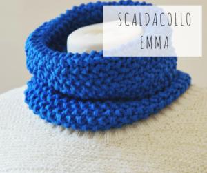 scaldacollo sciarpa artigianale ecologica fatta a mano telai da maglia