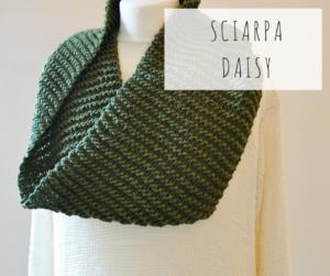 scaldacollo sciarpa inifnity artigianale ecologica fatta a mano telai da maglia