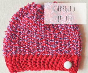 cappello artigianale fatto a mano ai telai da maglia