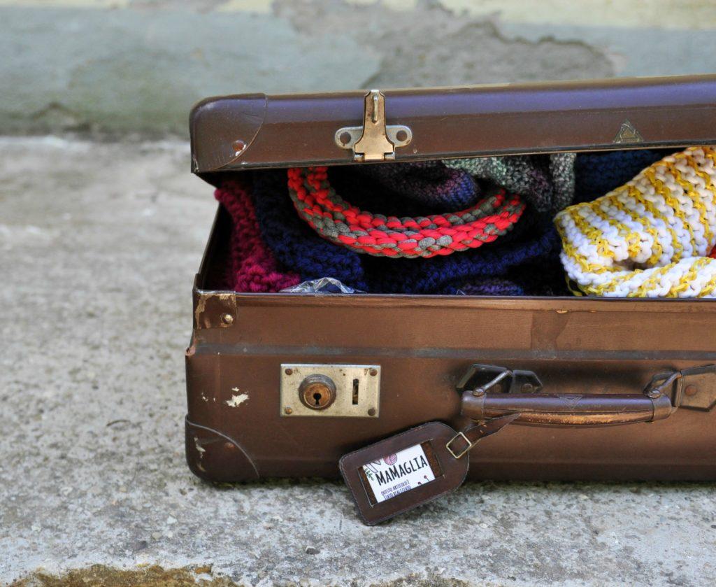 estate 2017 valigia di lavoro a maglia