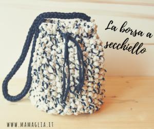 Prototipo borsa in fettuccia by MaMaglia