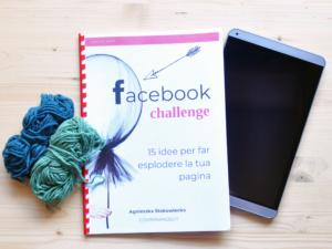 Vendere l'artigianato su Facebook - Ebook Facebook Challenge La Casa di Sabbia