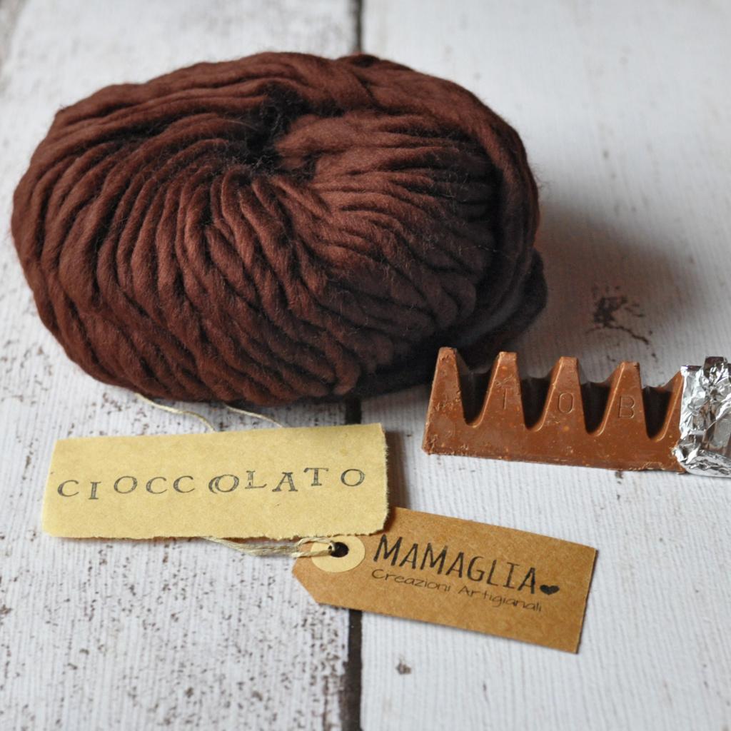 Colori autunno e inverno MaMaglia Cioccolato