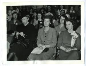 Tutti lavorano a maglia - Eleanor Roosevelt