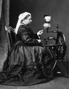 Tutti lavorano a maglia - Regina Victoria
