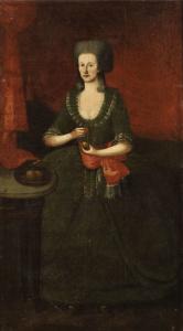 La maglia nella pittura -Dame mit Wollknäueln