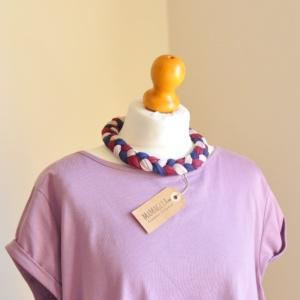Alba fascia e collana di MaMaglia Creazioni Artigianali