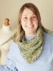 Il foulard fatto a maglia di MaMaglia